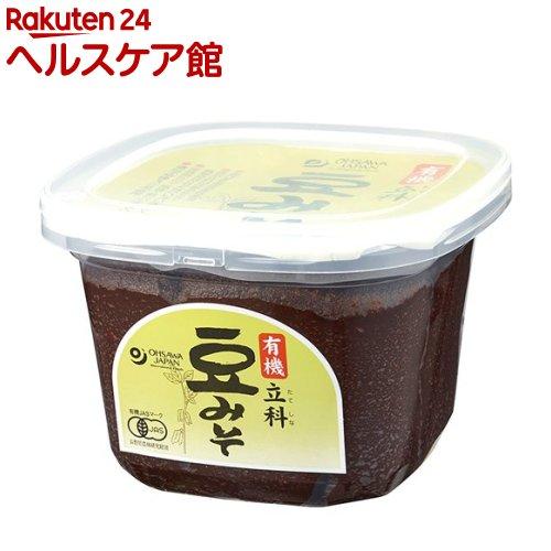 オーサワ 有機立科豆みそ カップ(750g)【オーサワ】