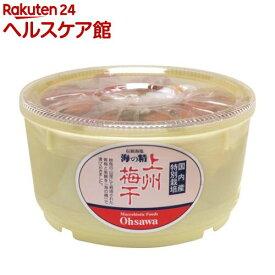 オーサワ 海の精・上州梅干(樽)(1kg)【オーサワ】