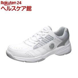 アサヒ ウィンブルドン WM-5000 ホワイト/グレー 25.5cm(1足)【ウィンブルドン(WIMBLEDON)】