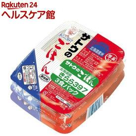 サトウのごはん 北海道産きらら397(200g*3コ入)【サトウのごはん】