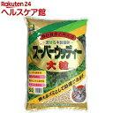 固まる木製猫砂 スーパーウッディー 大粒(6L)【常陸化工】