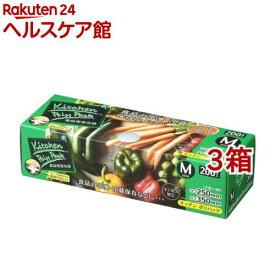ジャパックス キッチンポリパック BOX 保存袋 M SS-12(200枚入*3コセット)【more20】