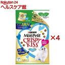 モンプチ クリスピーキッス とびきり贅沢おさかな味(180g*4コセット)【モンプチ】