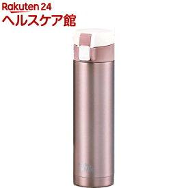 カフェマグスリム ワンタッチマグ 300ml シェルピンク(1本入)[水筒]