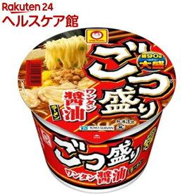 マルちゃん ごつ盛り ワンタン醤油ラーメン ケース(117g*12個入)【マルちゃん】