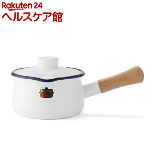 ハニーウェア ソリッド ミルクパン 15cm ホワイト SD-15M・W(1コ入)【ハニーウェア】