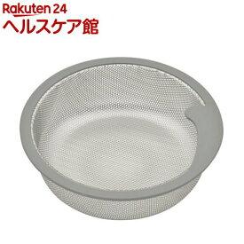 GAONA 流し用浅型ゴミカゴ ステンレス GA-PB007(1コ入)【GAONA】