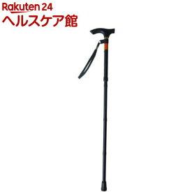 幸和 ピッチ付折りたたみ式杖 E248 ブラック(1本入)【TacaoF(テイコブ)】