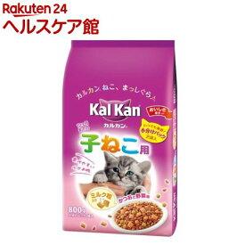 カルカン ドライ かつおと野菜味 ミルク粒入り 子ねこ用(800g)【more30】【カルカン(kal kan)】[キャットフード]