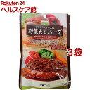 三育フーズ デミグラスソース野菜大豆バーグ(100g*3コセット)