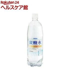 サンガリア 炭酸水(1L*12本入)[炭酸水]
