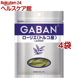 ギャバン ローリエ(トルコ産) ホール 袋(4g*4袋セット)【ギャバン(GABAN)】