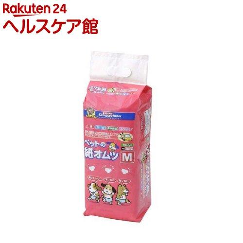 ドギーマン ペットの紙オムツ Mサイズ(16枚入)【ドギーマン(Doggy Man)】
