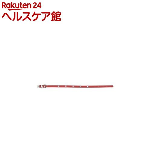 ダブルレザー カラー ハート 3L 赤(1コ入)