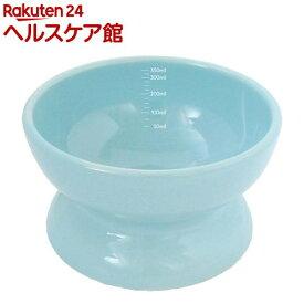 瀬戸焼 にゃん楽食器 水のみ ミルキーブルー(1コ入)