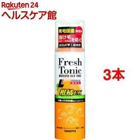 柳屋 薬用育毛フレッシュトニック柑橘EX(190g*3コセット)【柳屋】