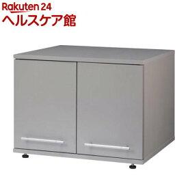冷蔵庫上ラック シルバーグレー(1台)