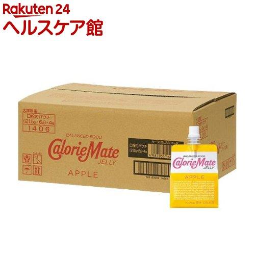 カロリーメイト ゼリー アップル味(215g*6コ入*4セット)【カロリーメイト】