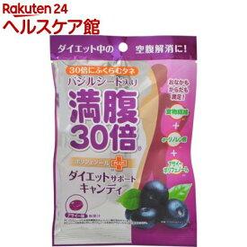 満腹30倍 ダイエットサポートキャンディ アサイー(42g)【more30】【満腹30倍】