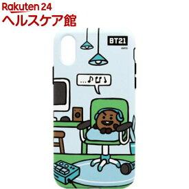 iPhone XS/X デュアルガード ルーミーズ SHOOKY KCB-DRS006(1個)【BT21】