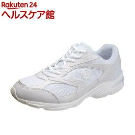 アサヒ ウィンブルドン 044WS ホワイト/ホワイト 21.0cm(1足)【ウィンブルドン(WIMBLEDON)】