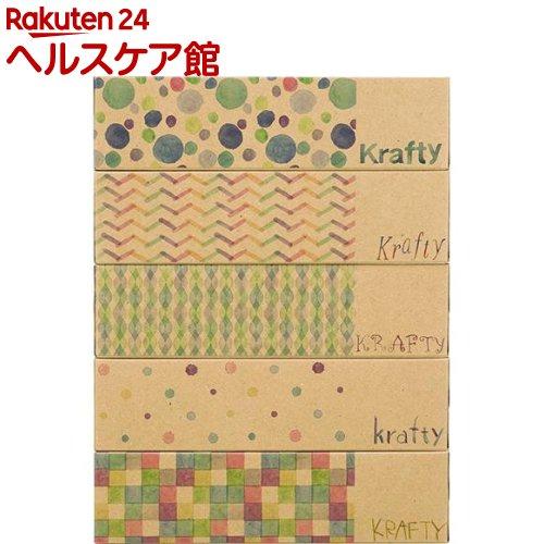 エルモア Kazaru Krafty パターン(360枚(180組)*5コ入)【エルモア】