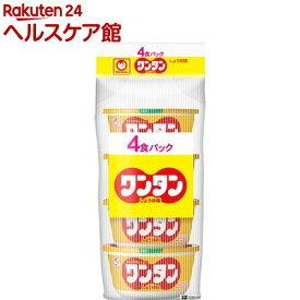 マルちゃん ワンタン しょうゆ味 4食パック(32g*4食入)【マルちゃん】