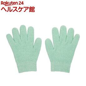 眠れる森のぷるジェル手袋 グリーン(1双)【眠れる森シリーズ】