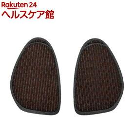 イズフィット 吸湿発熱つま先クッション 女性用 フリー(22.0cm-25.0cm) ブラック(1足組)【イズフィット】