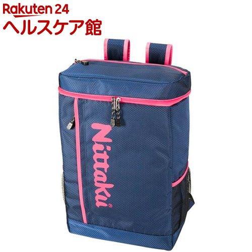 ニッタク 卓球バッグ ハニカムデイパック ネイビー*ピンク(1コ入)【ニッタク】【送料無料】