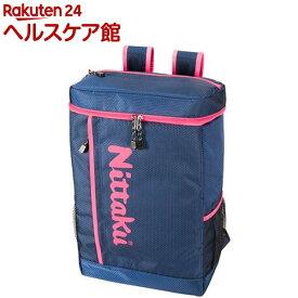 ニッタク 卓球バッグ ハニカムデイパック ネイビー*ピンク(1コ入)【ニッタク】