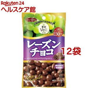 果実ヴェール レーズンチョコ(47g*12コセット)[チョコレート]