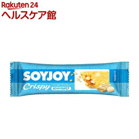 SOYJOY(ソイジョイ) クリスピー ホワイトマカダミア(25g*12本入)【spts9】【spts3】【SOYJOY(ソイジョイ)】