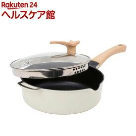 コパン 湯切りフライパン 24cm(1個)【コパン(copan)】