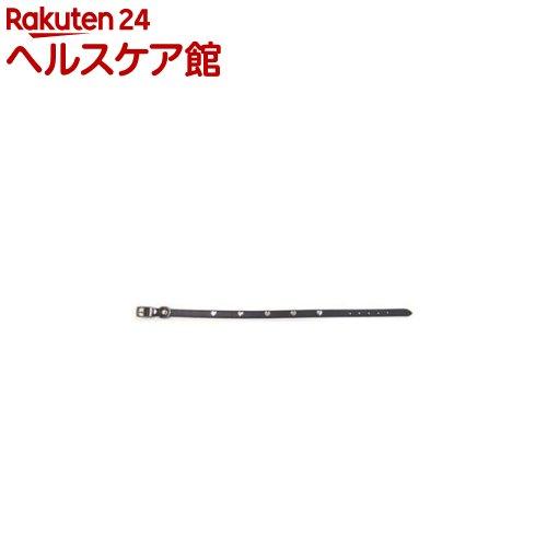 ダブルレザー カラー ハート 3L 黒(1コ入)
