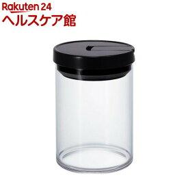 ハリオ コーヒーキャニスター M ブラック MCN-200B(1コ入)【ハリオ(HARIO)】