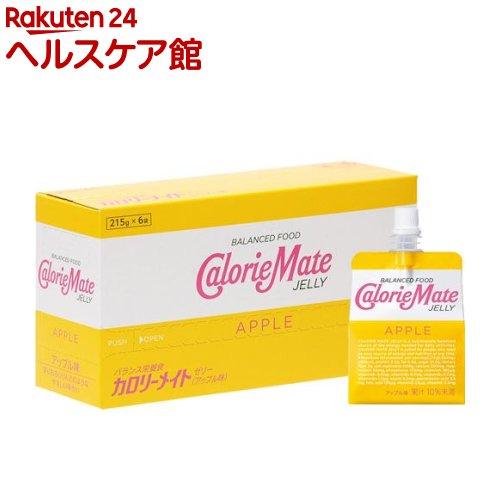 カロリーメイト ゼリー アップル味(215g*6袋入)【カロリーメイト】