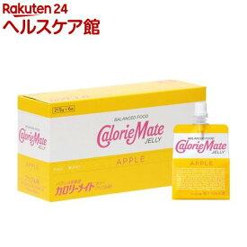カロリーメイト ゼリー アップル味(215g*6袋入)【spts9】【spts3】【slide_e8】【カロリーメイト】