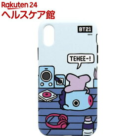 iPhone XS/X デュアルガード ルーミーズ MANG KCB-DRS007(1個)【BT21】