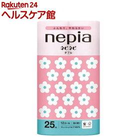 ネピア ネピネピトイレットロール ダブル 桜の香り/桜色(25m*12ロール)【ネピア(nepia)】