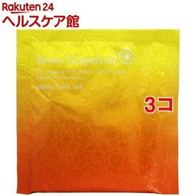 ジーピークリエイツ サニーグレープフルーツ アロマバスソルト(40g*3コセット)