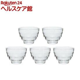 ハリオ 耐熱ガラスカップ HU-3012(5コ入)【ハリオ(HARIO)】