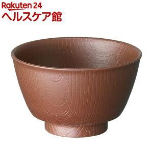 木目 持ちやすい茶碗 ブラウン NBLS1(1個)