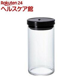 ハリオ コーヒーキャニスター L ブラック MCN-300B(1コ入)【ハリオ(HARIO)】