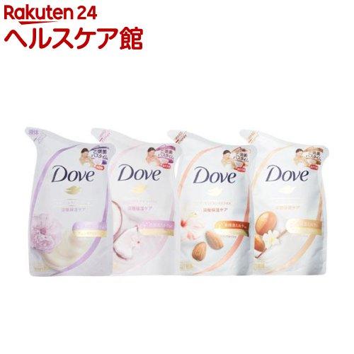 ダヴ ボディウォッシュリッチケア アソートパック 詰替用(340g*4コ入)【ダヴ(Dove)】