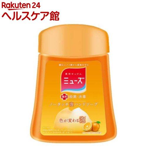 ミューズ ノータッチ泡ハンドソープ 詰替え ボトル フルーティーフレッシュ(250mL)【ミューズ】