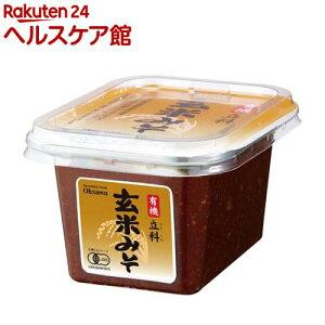 オーサワ 有機立科玄米みそ カップ(300g)【オーサワ】