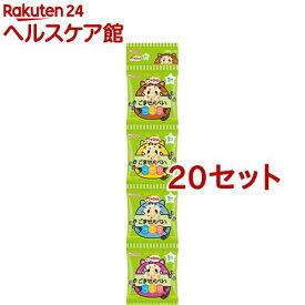 和光堂 1歳からのおやつ+DHA ごませんべい4連(6g*4袋入*20セット)