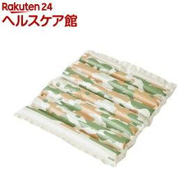 エアクッション ザブポン スタイル カモフラ柄 グリーン(10枚)【ザブポン】