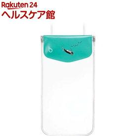 ビキット スマートフォン用ファッション防水ポーチ カジュアル アクアマリン BK5764(1コ入)【ビキット(bikit)】